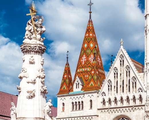 Vengrija. Budapeštas. Šv. Trejybės bažnyčia
