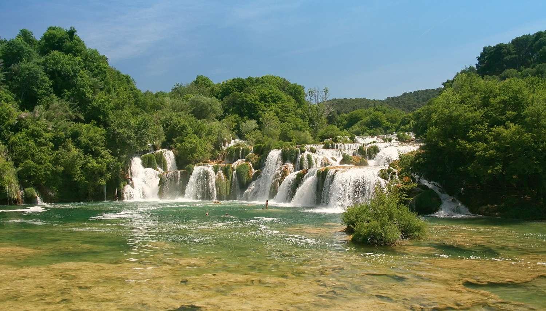 Pietų Kroatija su poilsiu Makarskos pakrantėje
