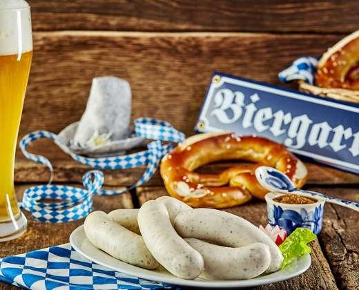 Vokietija. Tradiciniai bavariški skanėstai Miunchene