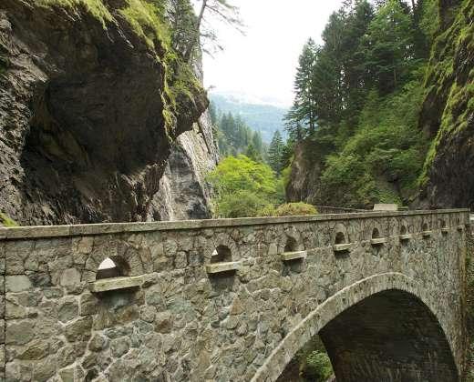 Šveicarija. Via Mala kelias