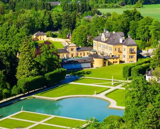 Austrija. Helbruno rūmai