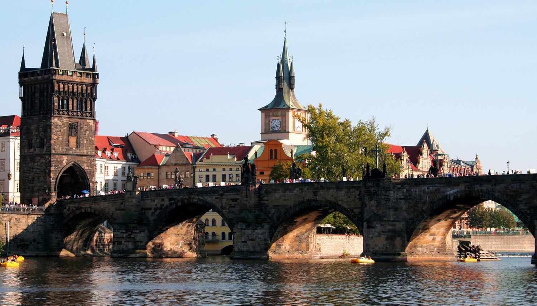 Čekija. Praha. Karolio tiltas
