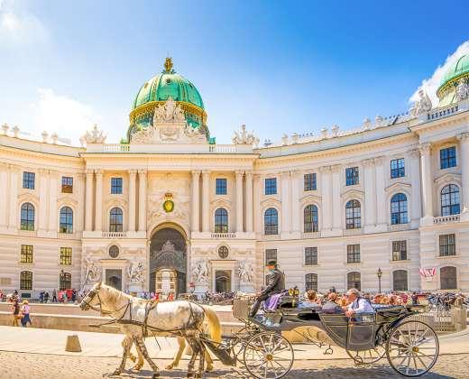 Austrija. Viena. Habsburgų rūmų kompleksas