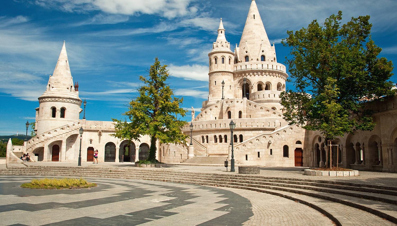 Vengrija. Budapeštas. Žvejų bastionas