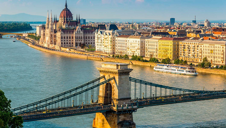 Budapeštas, Praha, Viena
