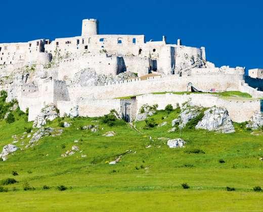 Slovakija. Spiš pilies griuvėsiai