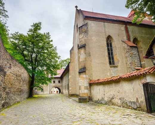 Slovakija. Raudonųjų kamadulių vienuolynas