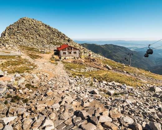 Lenkija. Žemieji Tatrai. Chopoko viršūnė