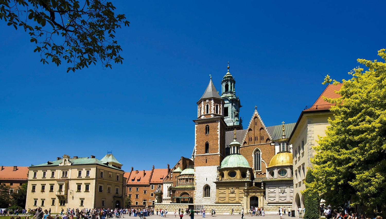 Lenkija. Krokuva. Vavelio katedra