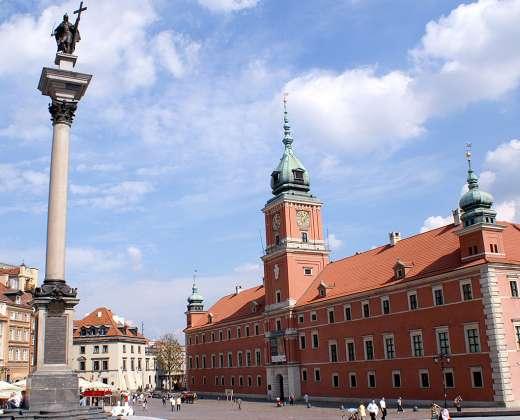 Lenkija. Karalių rūmai