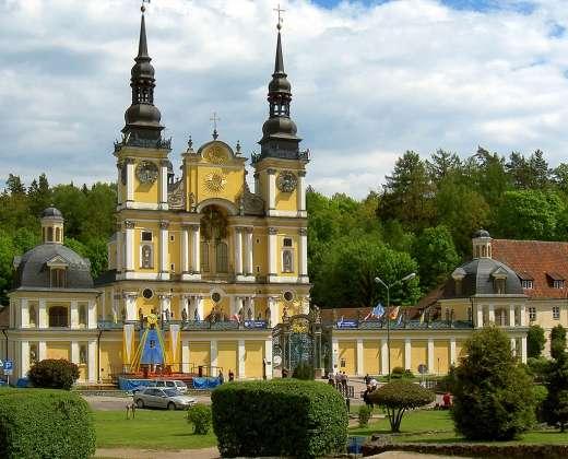 Lenkija. Šv.Lipkos ansamblis