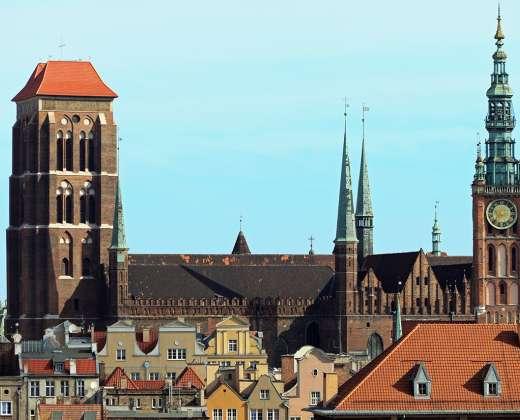 Gdanskas. Šv. Mergelės katedra