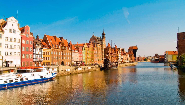 Šiaurės Lenkijos pakrantės miestai