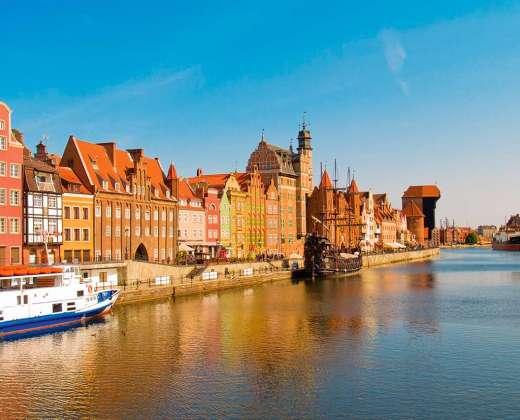 Lenkija. Gdansko senamiestis