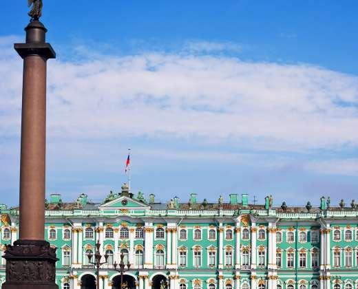 Sankt Peterburgas. Ermitažo kompleksas