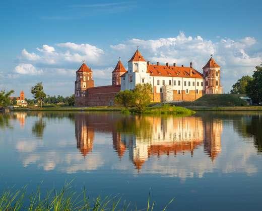 Baltarusija. Myriaus pilis
