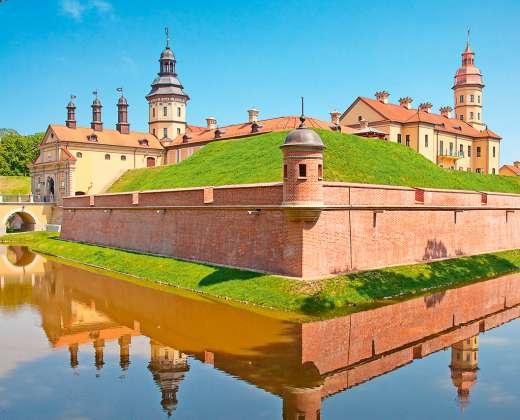 Baltarusija. Nesvyžiaus rūmų kompleksas
