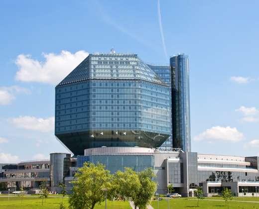 Baltarusija. Minsko nacionalinė biblioteka
