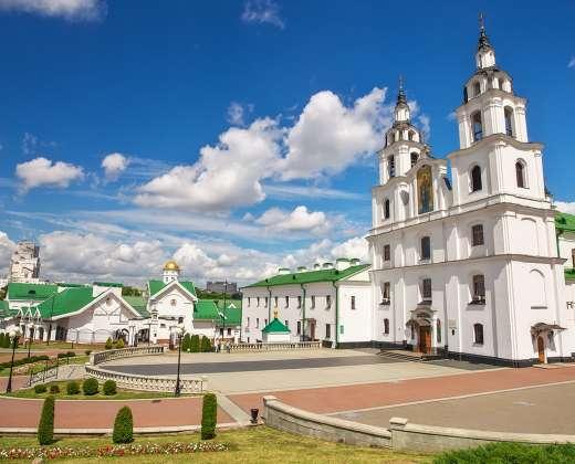 Baltarusija. Minskas. Šv. Dvasios cerkvė