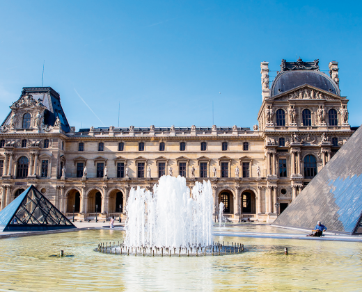 Prancūzija. Paryžius. Luvro muziejus