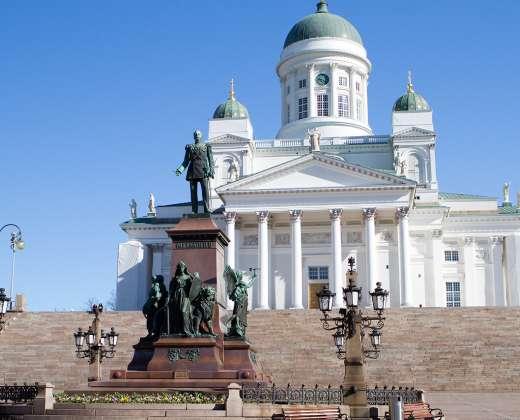 Helsinkis. Katedra