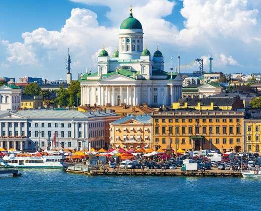 Helsinkis. Prieplaukos turgus