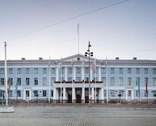 Helsinkis. Rotušė