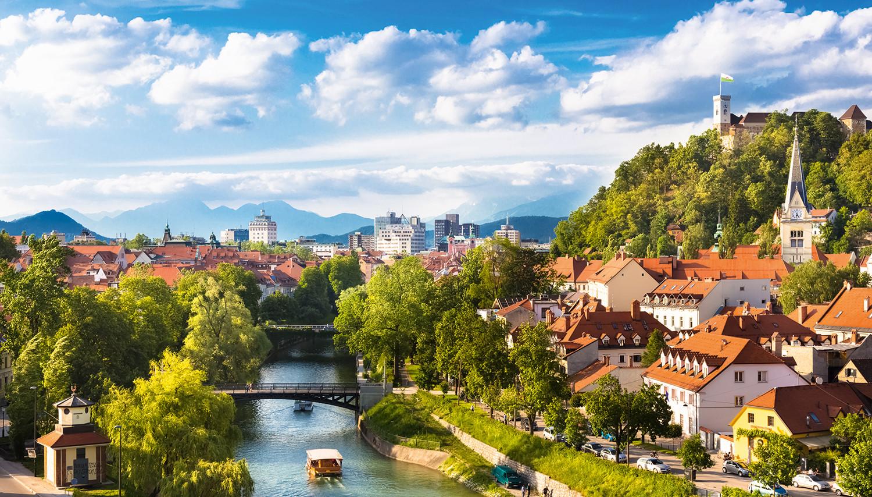 Slovėnija. Liubliana