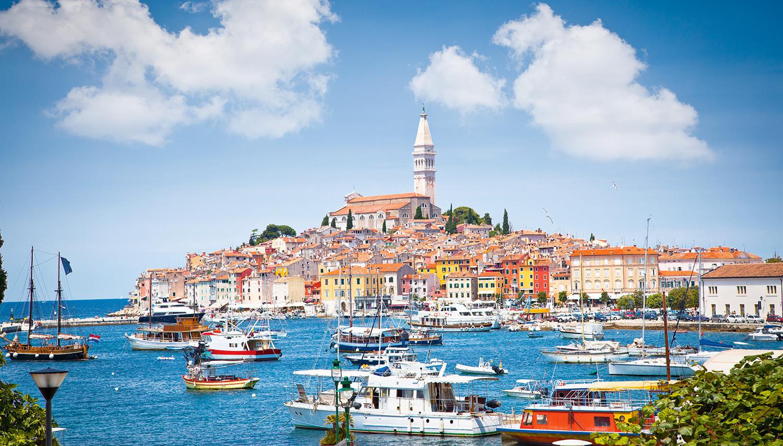 Kroatija. Rovinis