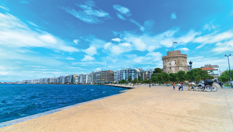 Graikija. Salonikai. Baltasis bokštas