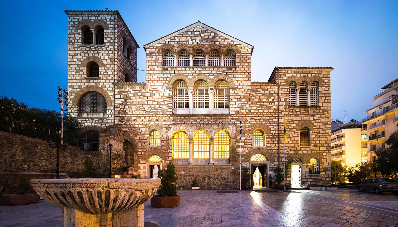 Graikija. Salonikai. Šv. Dimitrijaus bazilika