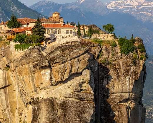 Graikija. Meteorų vienuolynas