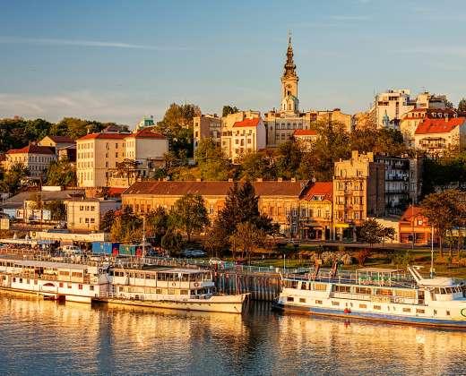 Serbija. Belgradas