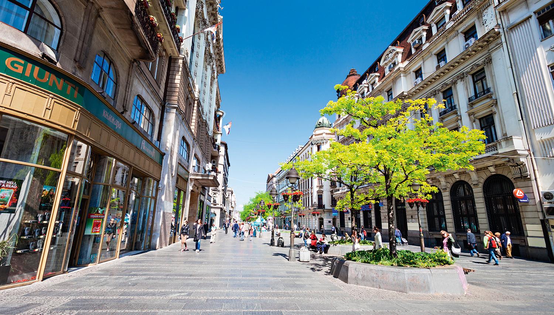 Serbija. Belgrado tvirtovė