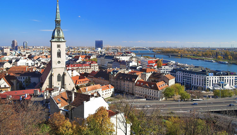 Slovakija. Bratislava. Šv. Martyno katedra