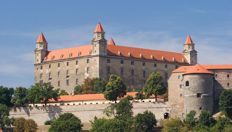 Slovakija. Bratislavos pilis