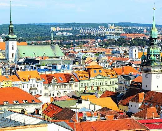 Čekija. Brno