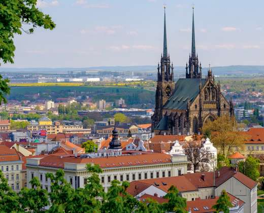 Čekija. Brno. Šv. Petro ir Povilo Katedra