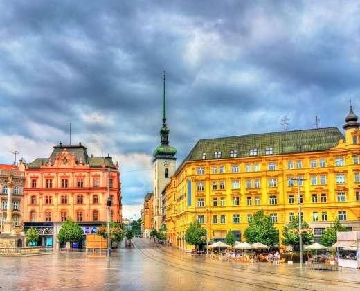 Čekija. Brno. Laisvės aikštė