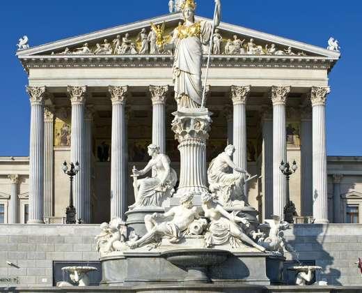 Austrija. Vienos parlamentas