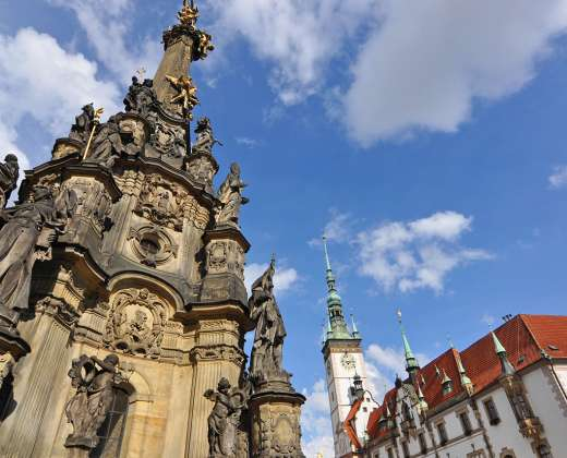 Čekija. Olomoucas. Šv. Trejybės kolona