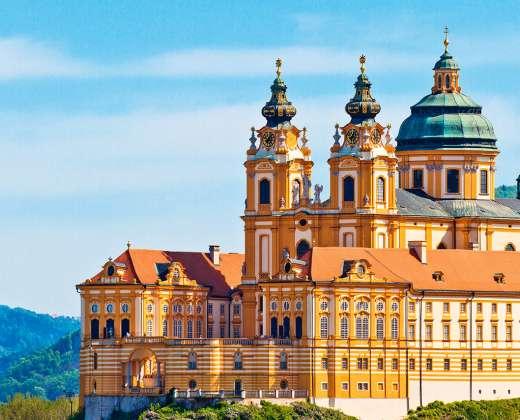 Austrija. Melko vienuolynas