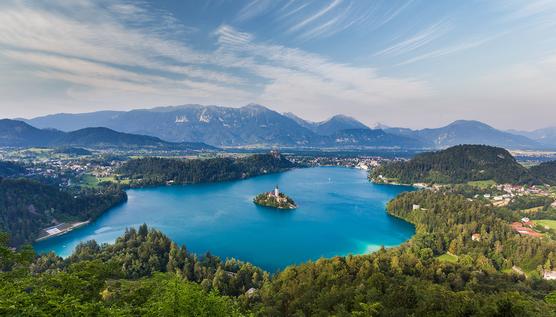 Slovėnija. Bledo ežeras