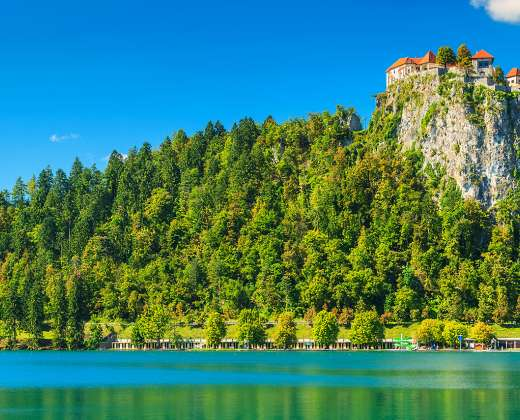 Slovėnija. Bledo pilis