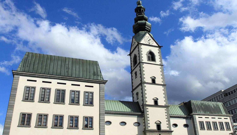 Austrija. Klafenfurto Katedra