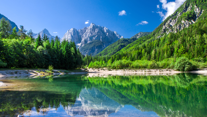 Slovėnija. Bledas. Triglavo nacionalis parkas