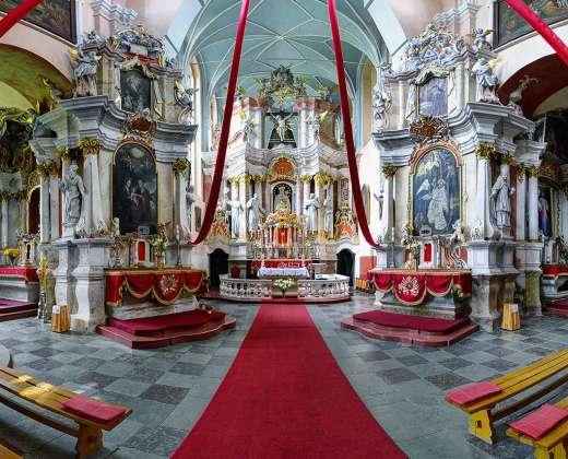 Tytuvėnų bažnyčios ir vienuolyno ansamblio vidus