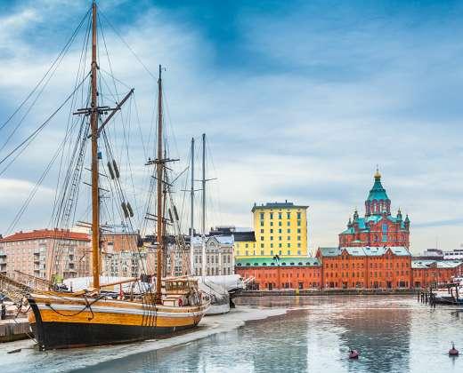 Suomija. Helsinkis