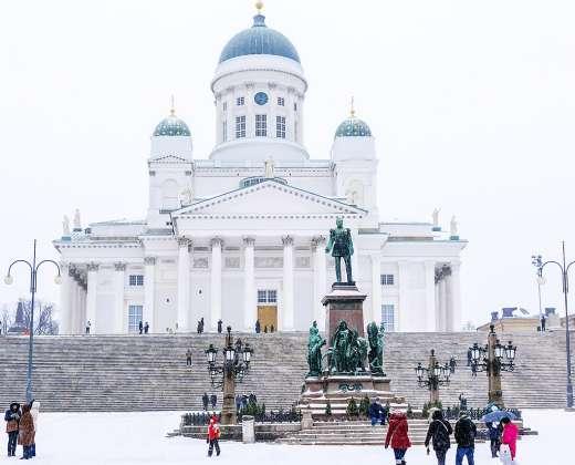 Helsinkis. Senato aikštė
