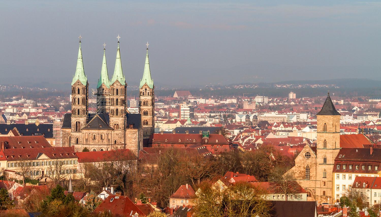 Vokietija. Bambergo katedra